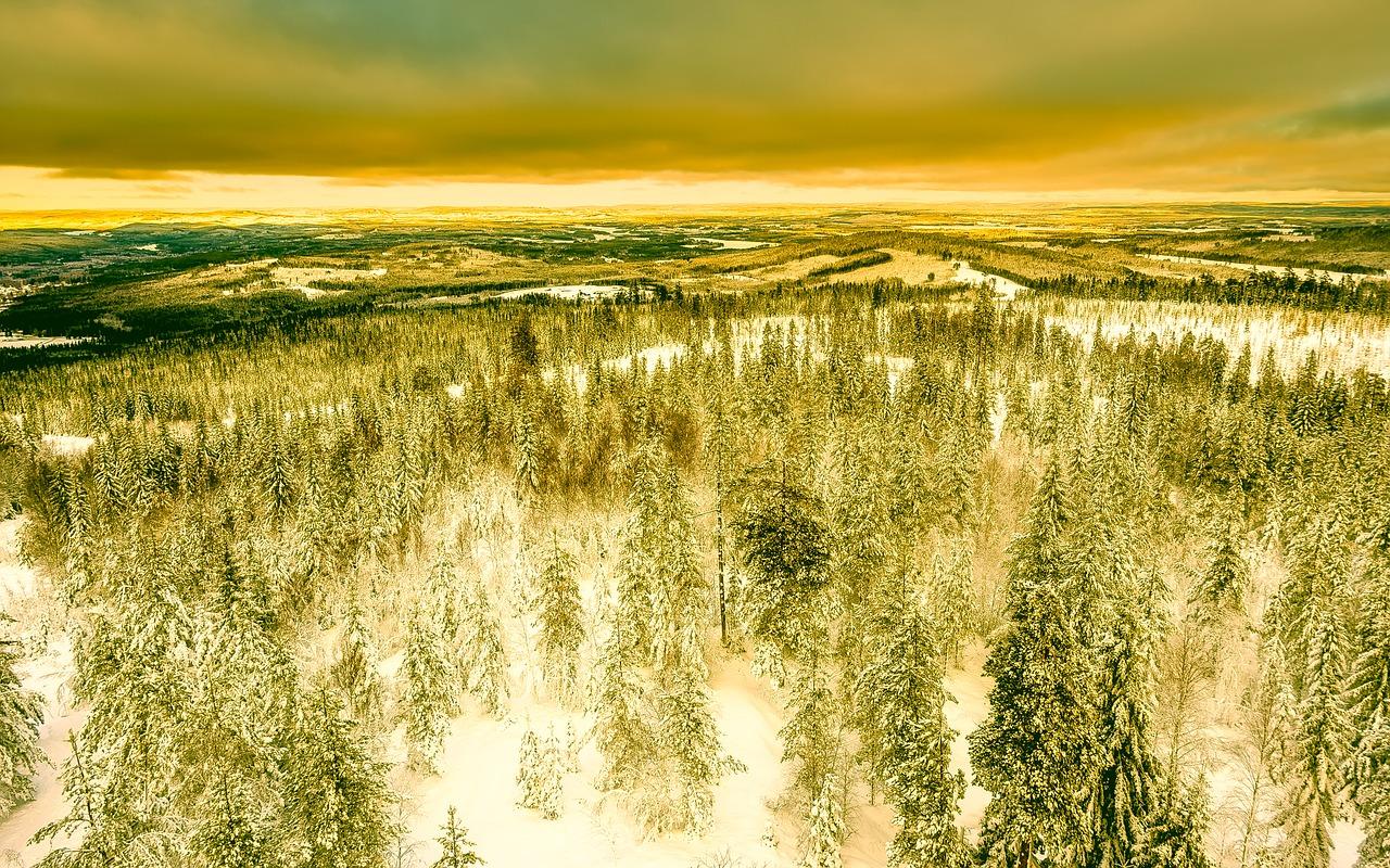 عکس مناظر رویایی سوئد