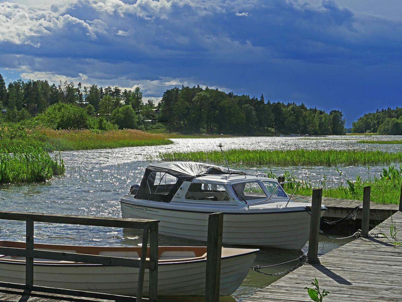 دریاچه های سوئد و سواحل