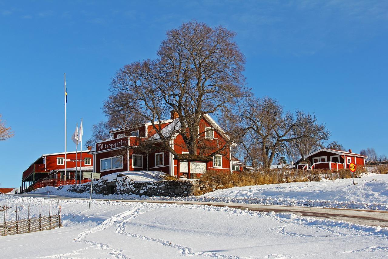 طبیعت زمستانی کشور سوئد