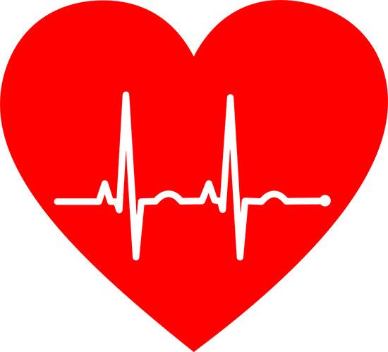 عکس پروفایل ضربان قلب برای واتساپ