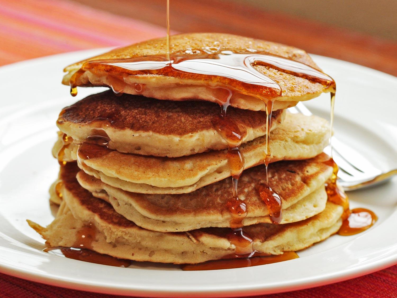 تزیین پنکیک صبحانه , پنکیک صبحانه