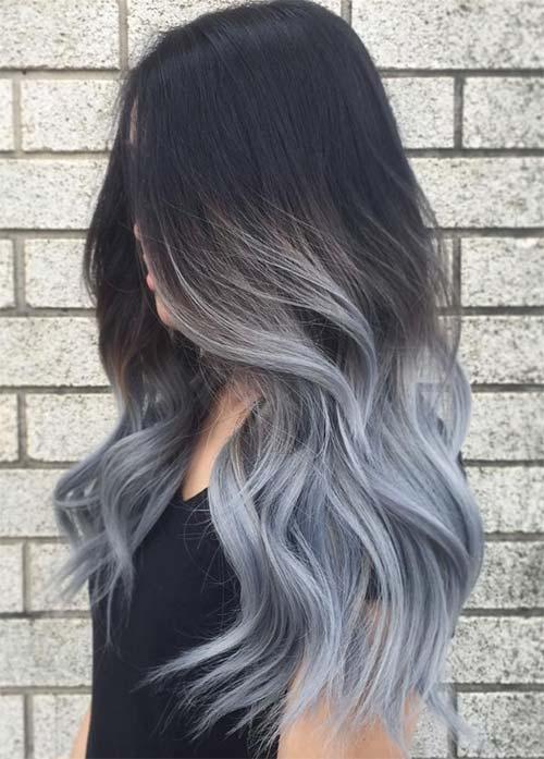 رنگ آمبره مو , مدل و عکس جدید