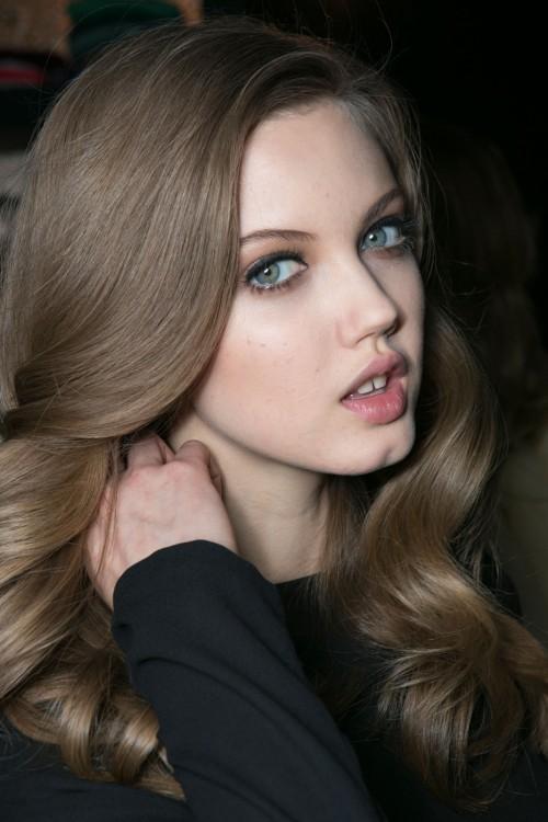 مدل رنگ موی دودی تیره