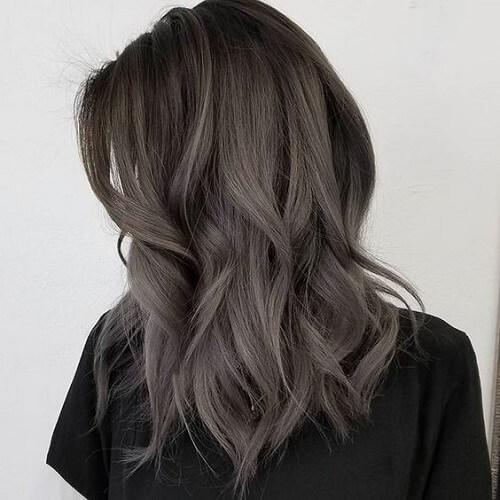 عکس رنگ موی خاکستری