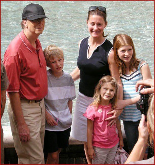 بیل گیتس و خانواده اش , عکس دختر بیل گیتس