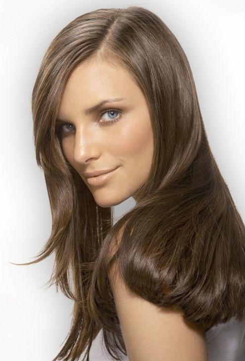 مدل رنگ موی قهوه ای خاکستری