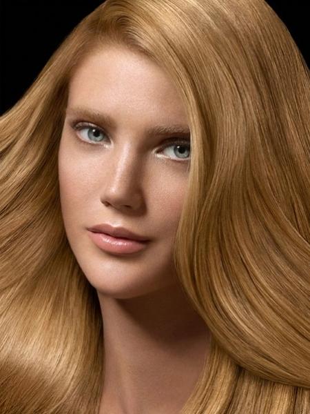 عکس رنگ موی بلوند روشن