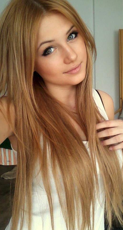 مدل رنگ موی بلوند قهوه ای