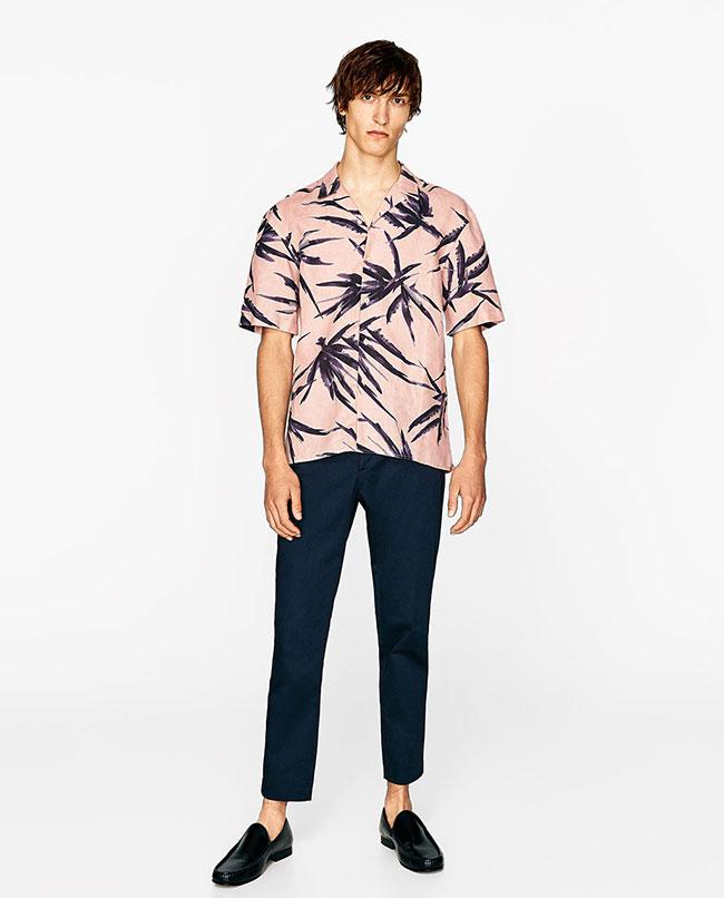 مدل پیراهن گلدار ساحلی