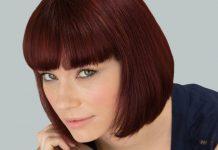 رنگ موی شاه بلوطی قرمز