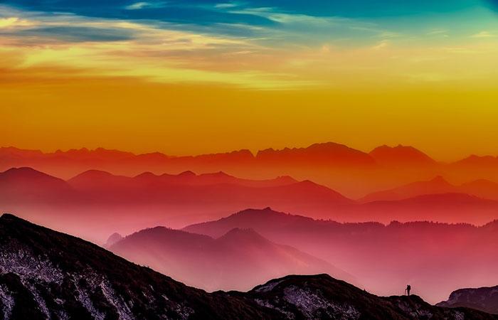 عکس طبیعت با تکنیک عکاسی ضد نور