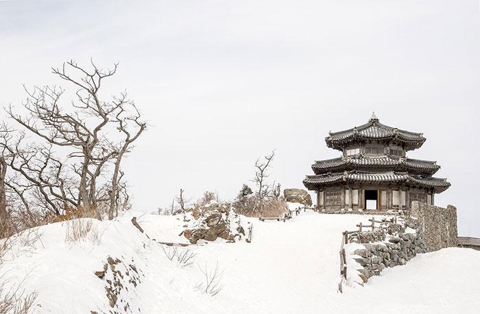 طبیعت زمستانی کره