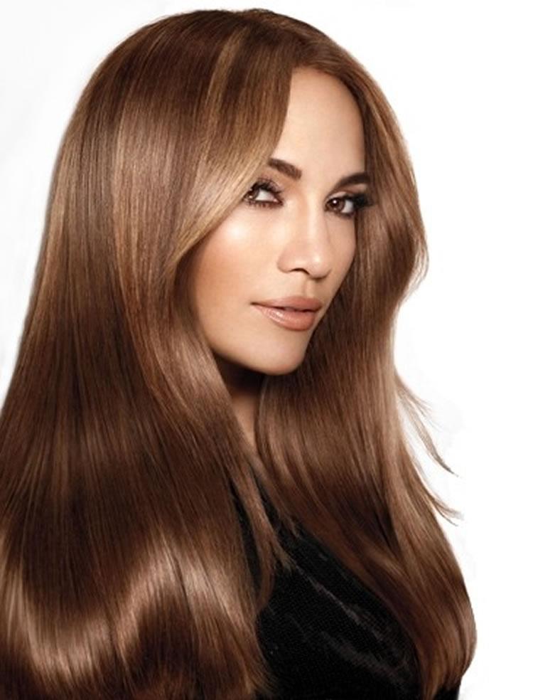 رنگ موی قهوه ای تنباکویی , هایلایت تنباکویی روی موی خرمایی