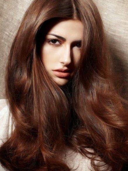 مدل رنگ مو تنباکویی