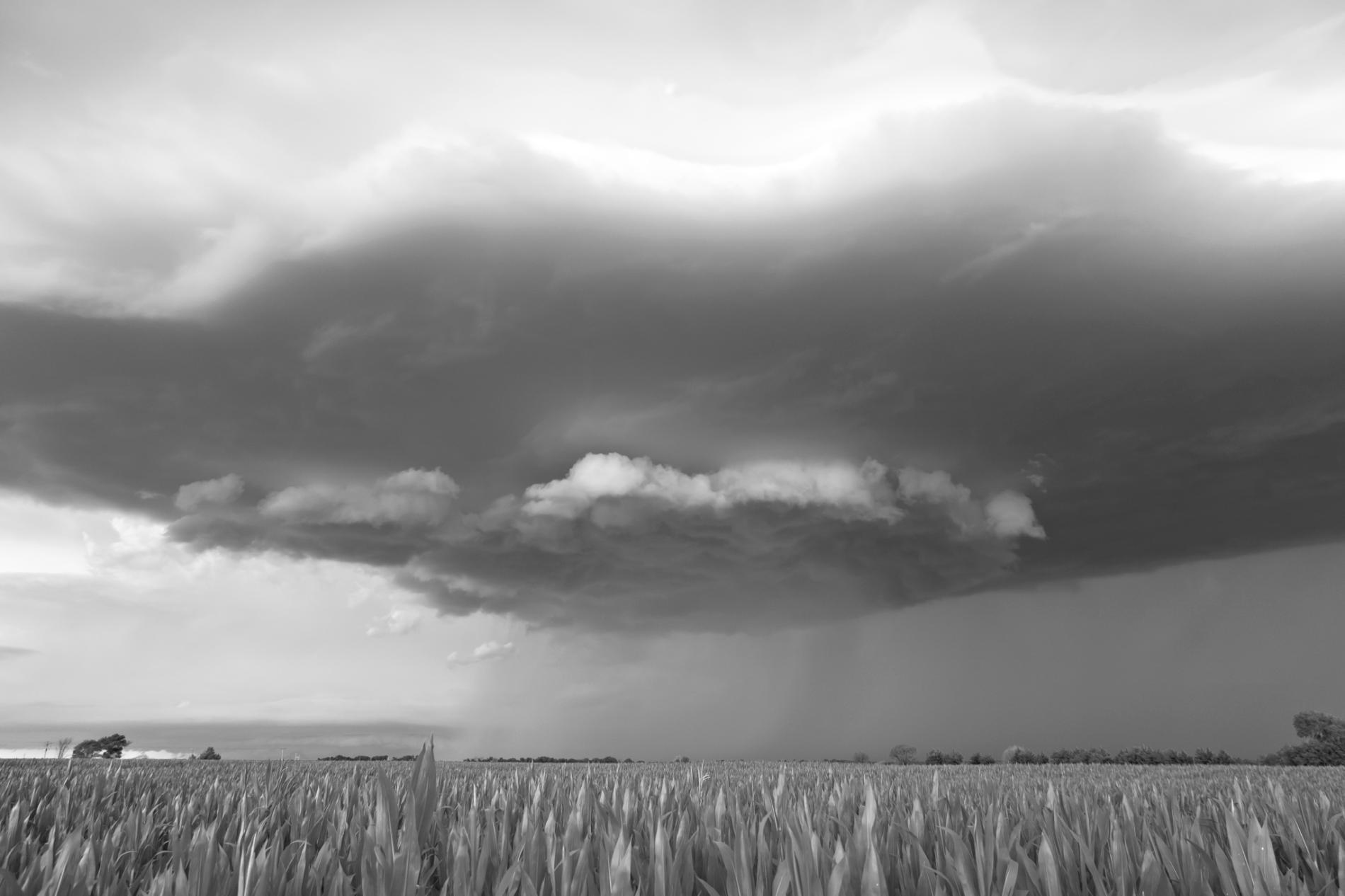 ابر بارانی - هرشی، نبراسکا