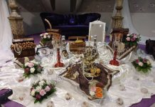 سفره عقد اصیل و سنتی ایرانی