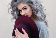 رنگ موی یخی تیره