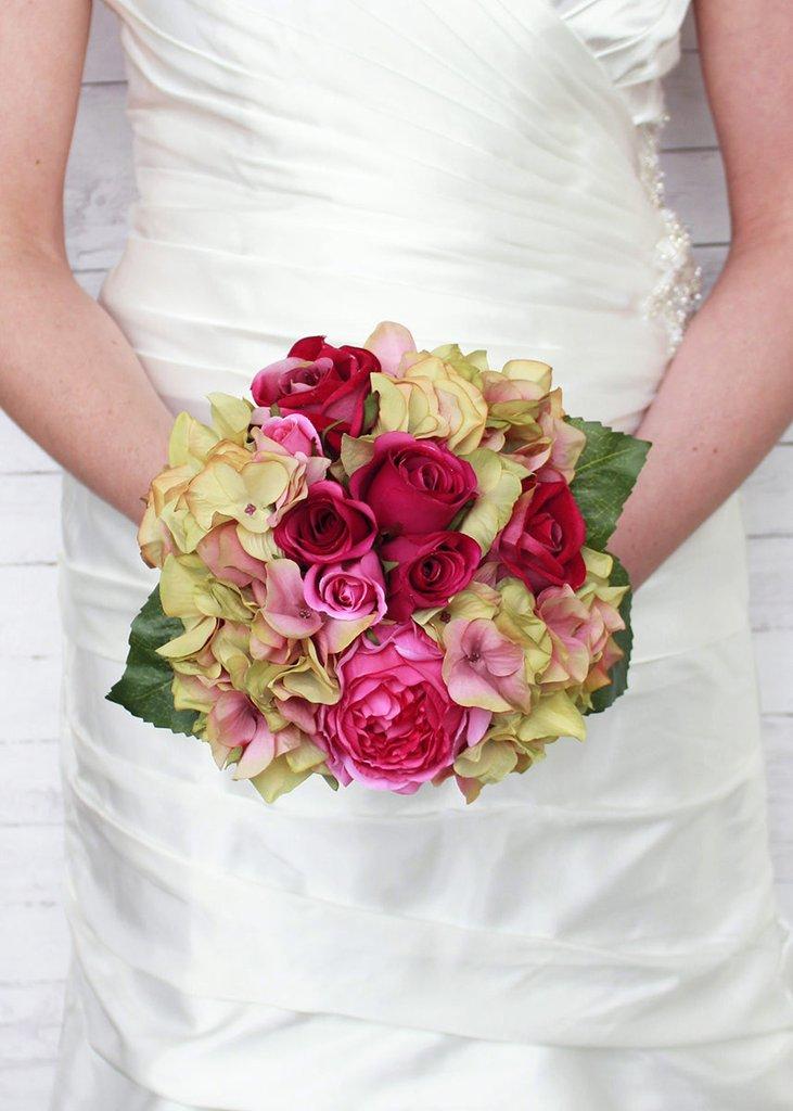 عکس دسته گل عروس زیبا و عاشقانه