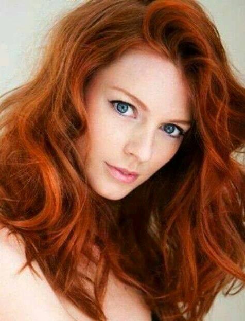 رنگ موی مسی روشن , عکس و مدل