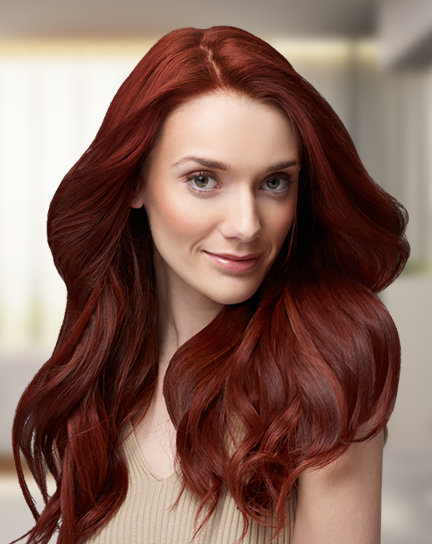 مدل رنگ موی مسی شکلاتی