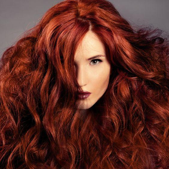 مدل رنگ مو مسی ماهاگونی