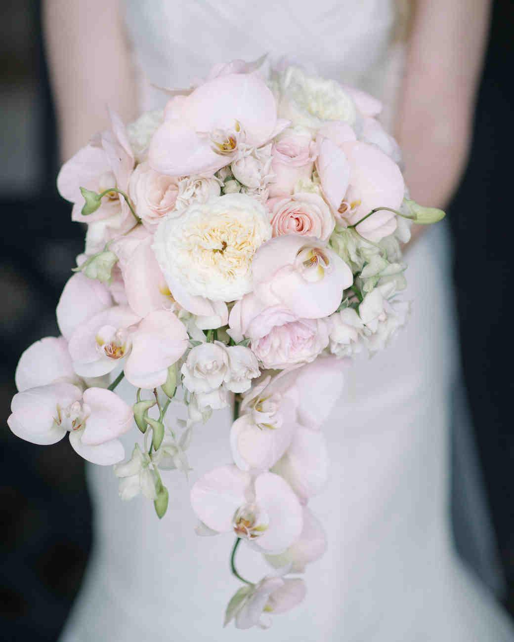 مدل شیک و عاشقانه دسته گل عروس ارکیده