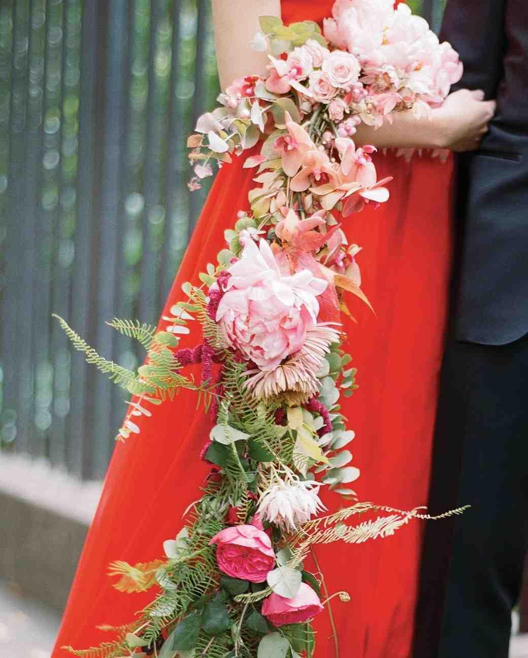 مدل دسته گل عروس با گل ارکیده
