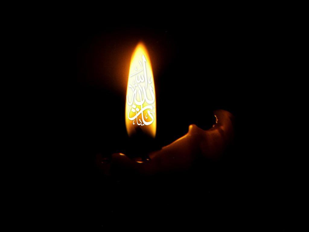 عکس شمع شام غریبان