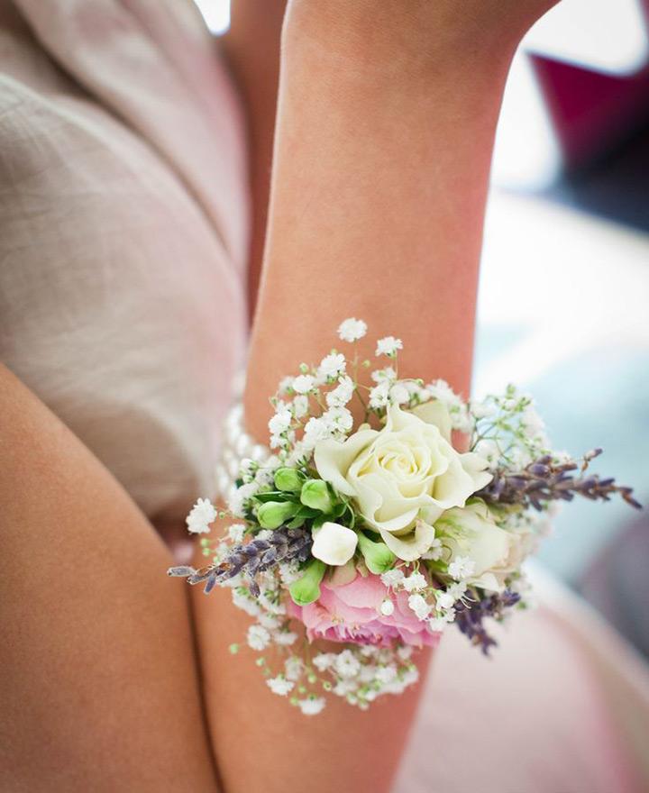 تصاویر مدل دسته گل دور مچ عروس