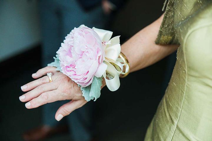 دسته گل حلقه ای نامزدی