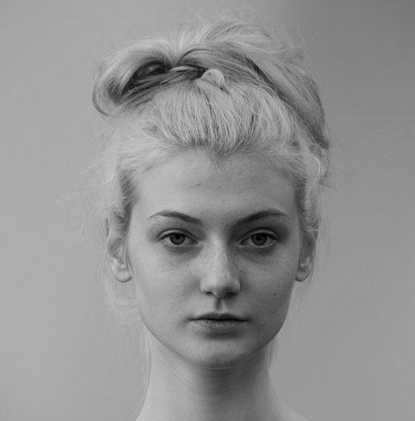 عکس های هنری سیاه و سفید از چهره