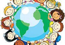 نقاشی روز جهانی کودک برای کودکان