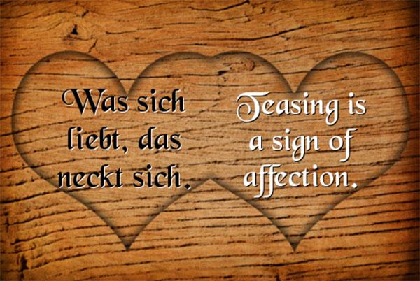 عکس نوشته عاشقانه آلمانی با ترجمه فارسی