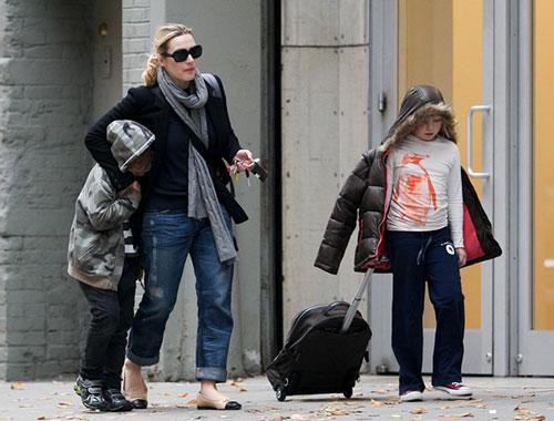 کیت وینسلت و فرزندانش