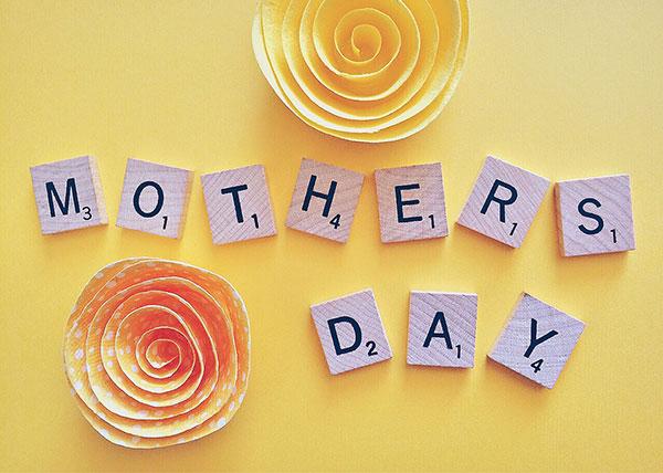 عکس انگلیسی تبریک روز مادر