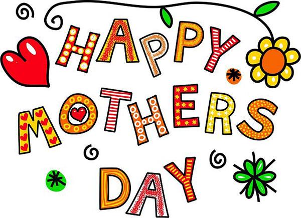 عکس نوشته انگلیسی تبریک روز مادر مبارک