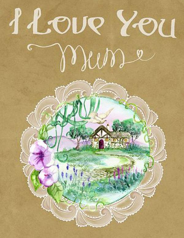 عکس نوشته انگلیسی درباره مادر