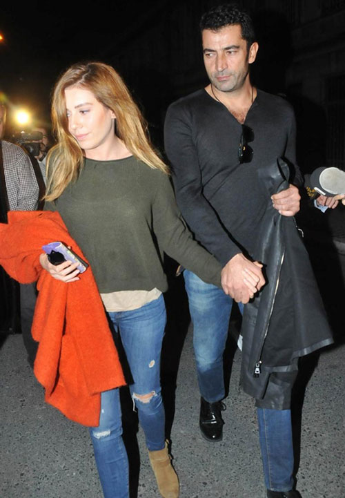 کنان ایمیرزالی اوغلو و همسرش