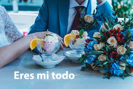 عکس نوشته های عاشقانه اسپانیایی