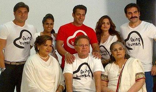 سلمان خان و خانواده اش