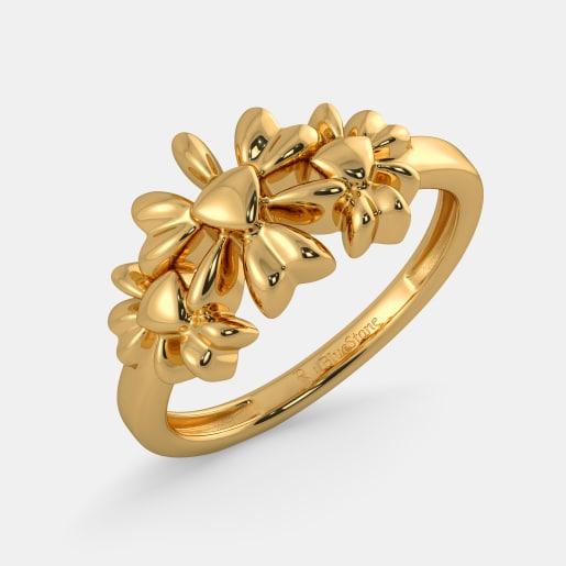 مدل انگشتر طلا بدون نگین جدید