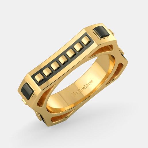 مدل انگشتر بدون نگین طلا زرد