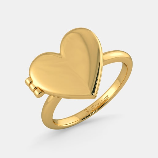 مدل حلقه با شکل قلب