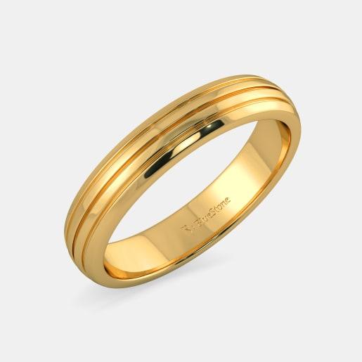 مدل حلقه ساد طلا زرد