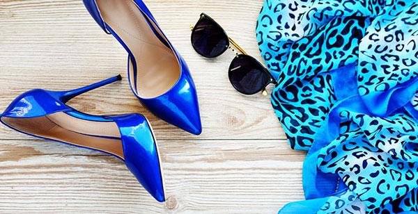 ست رنگ کفش و لباس