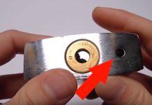 کاربرد سوراخ زیر قفل برای چیست؟