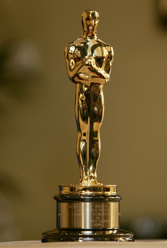 عکس مجسمه یا تندیس طلایی اسکار