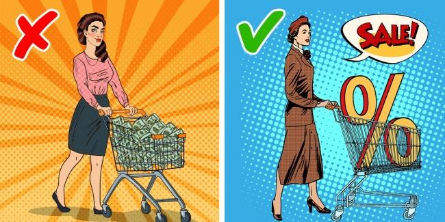 از عمده فروشی ها و در زمان تخفیف ها خرید کنید