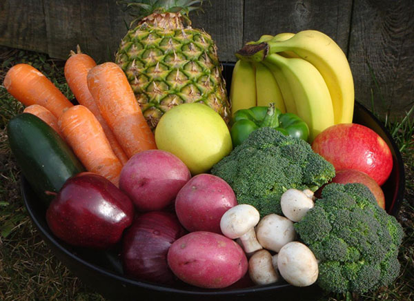مصرف غذا های سالم را افزایش دهید