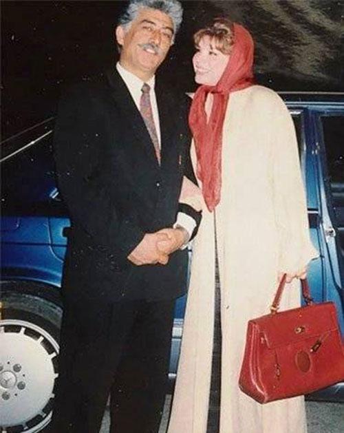 شیوا خنیاگر و شوهرش